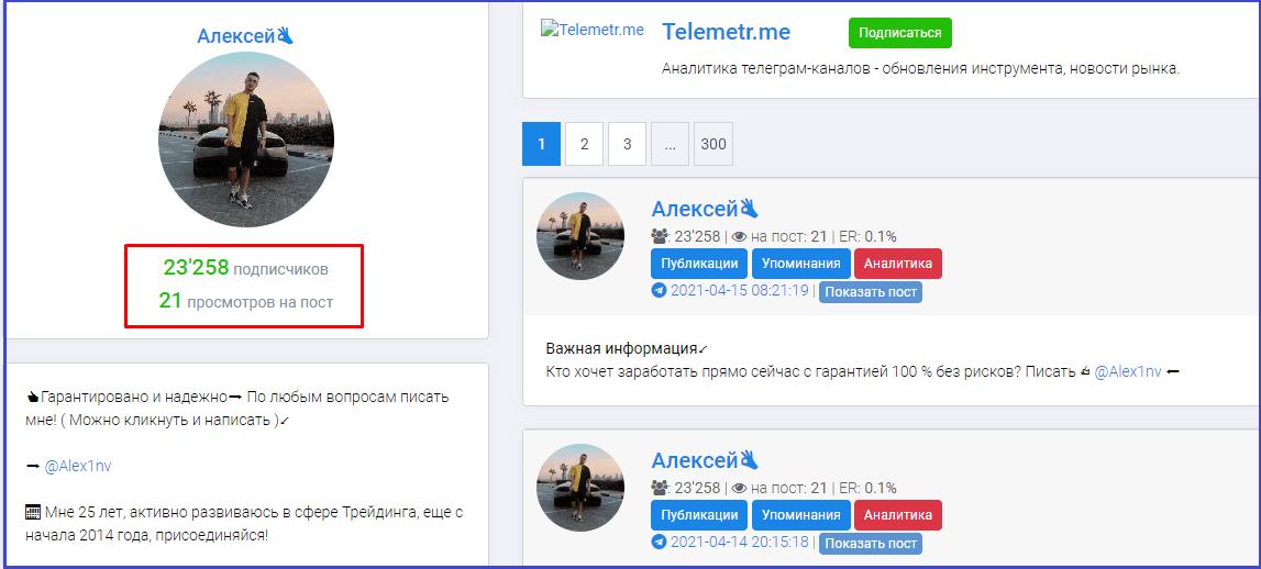алексей инвест телеграмм