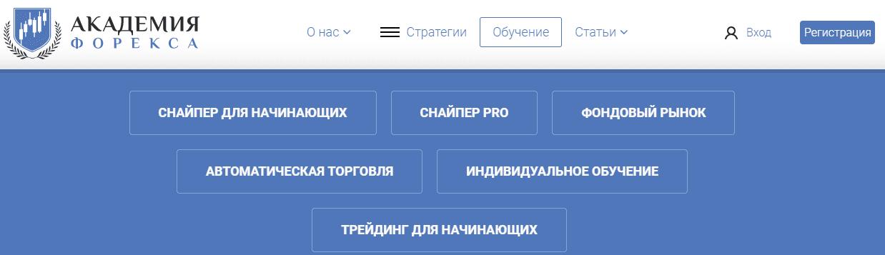 цена курсов академия форекс