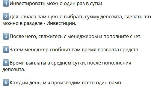 Trading Position bot правила
