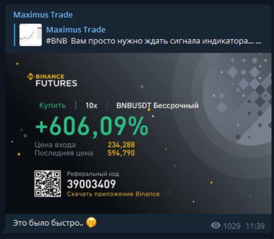maximus trade статистика