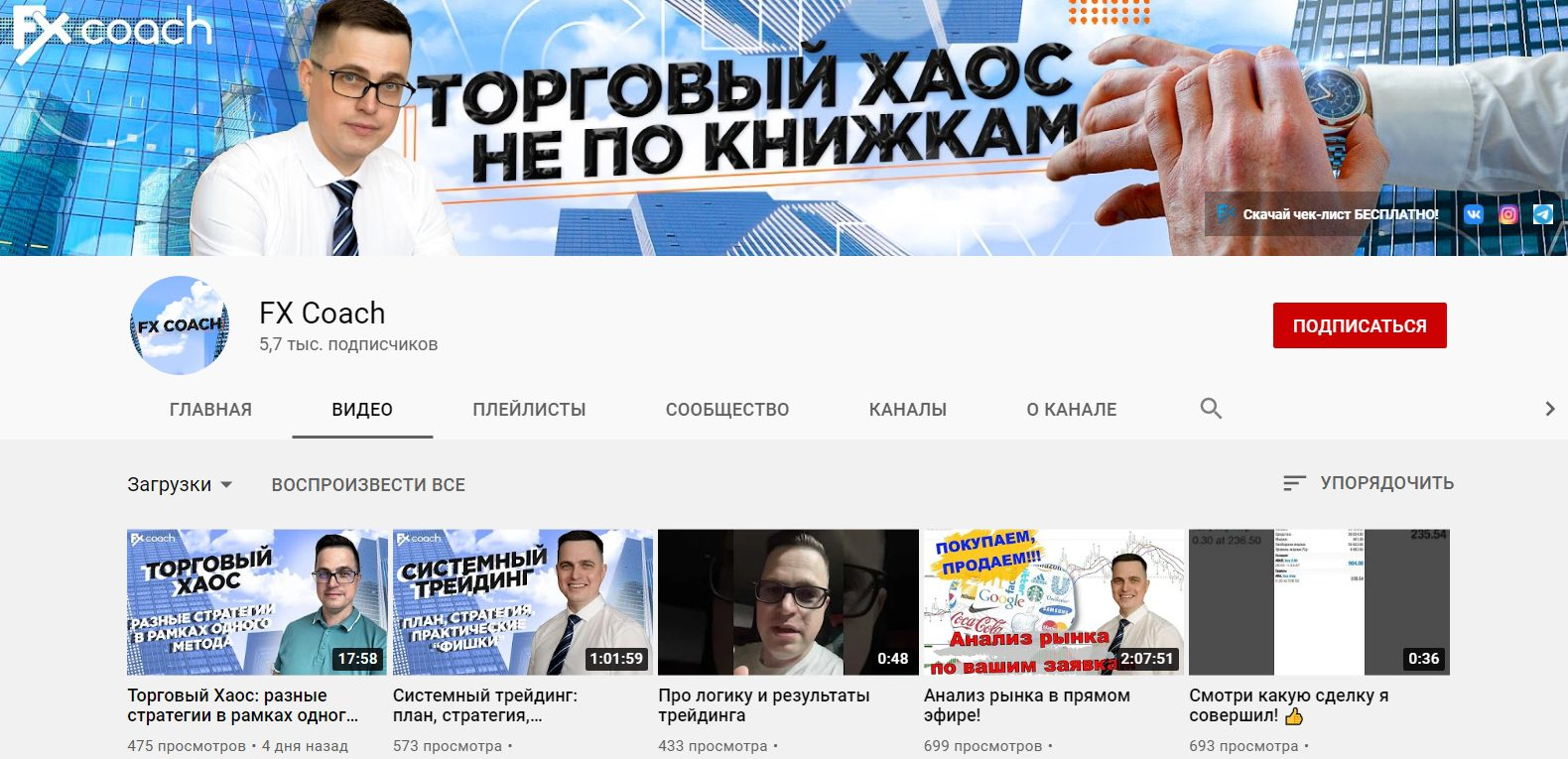 Ютуб канал Котина