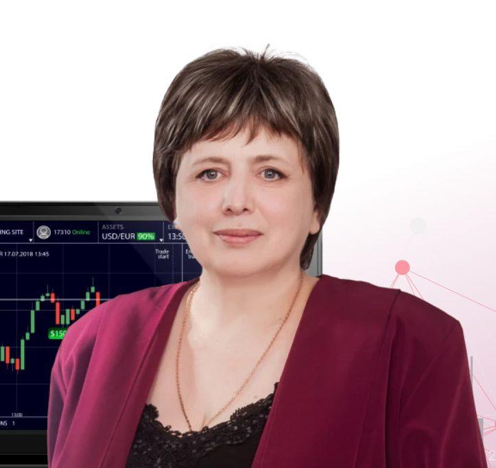 Forex-трейдер Анна Зольд