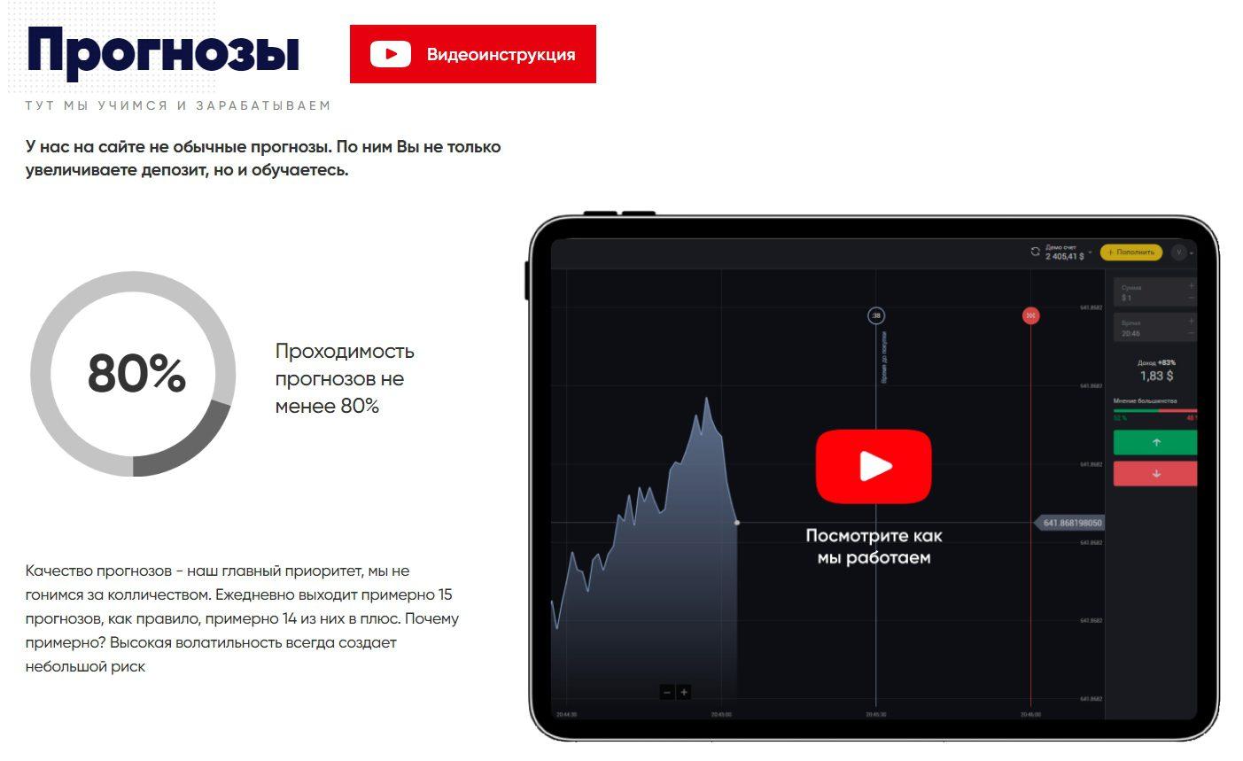 Сайт трейдера Андрея Бабенко