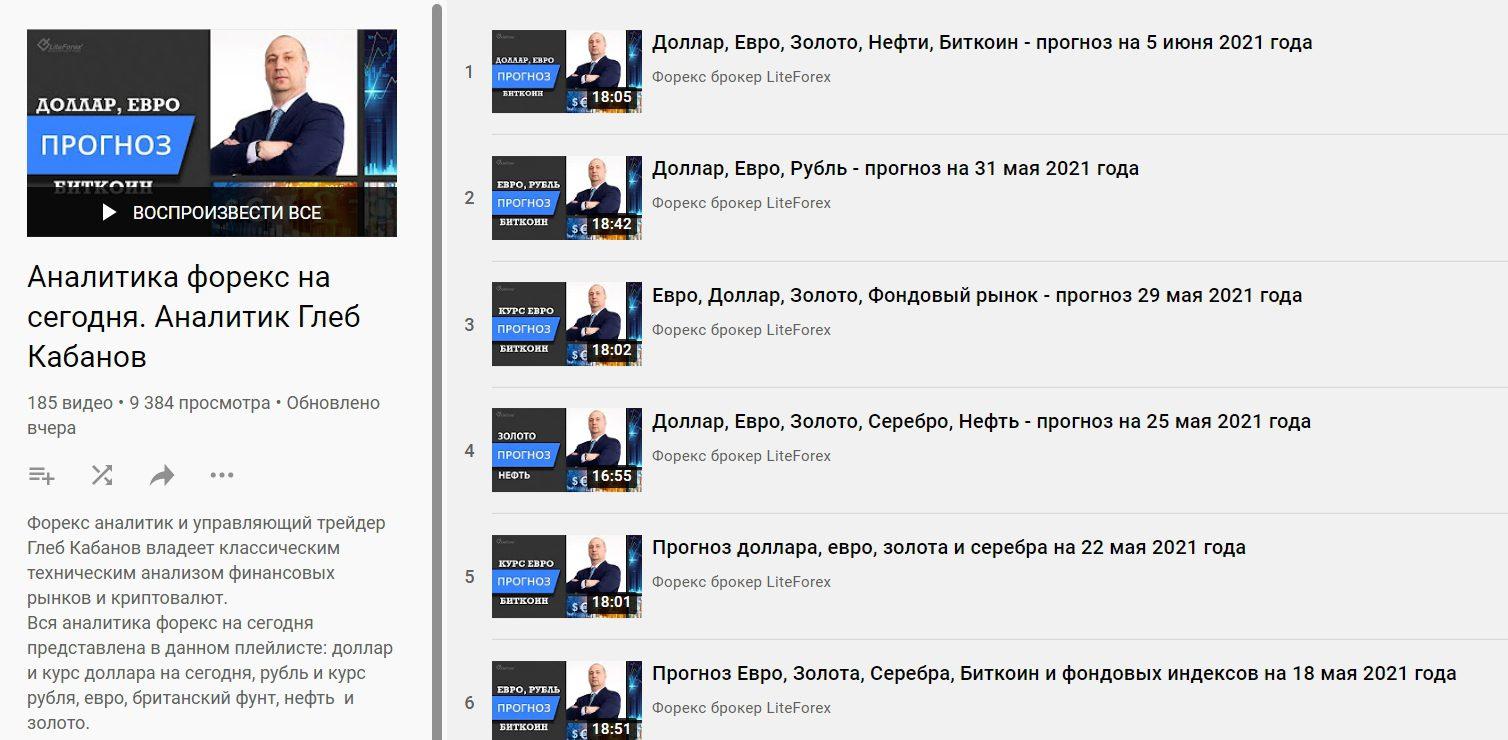 Ютуб канал Глеба Кабанова