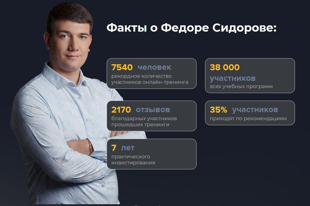 Факты о Федорове Сидорове