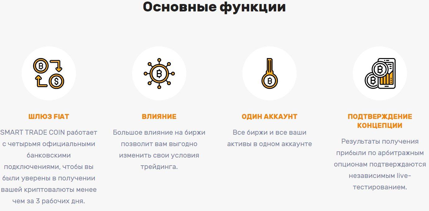 Основные функции торгового робота