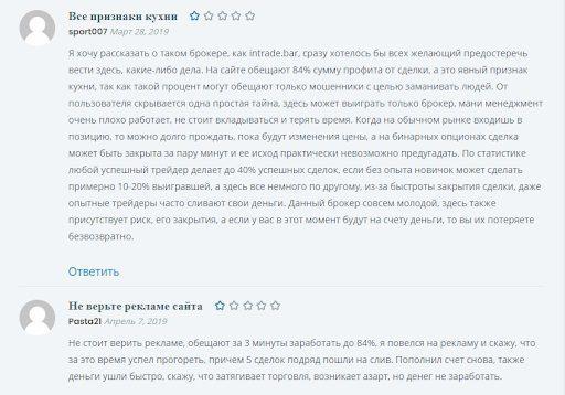Отзывы о BiforexPro