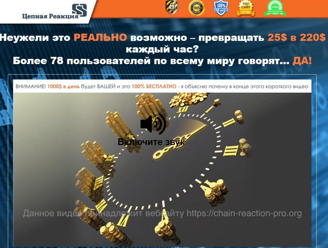 Сайт Цепная Реакция Александра Горского