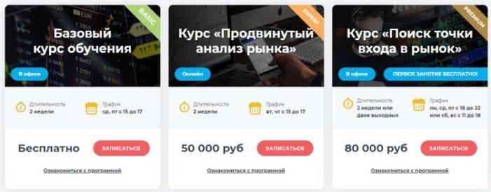 Стоимость курса Артема Авинова