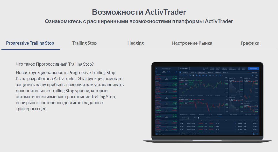 Возможности ActivTrades Александра Паршакова