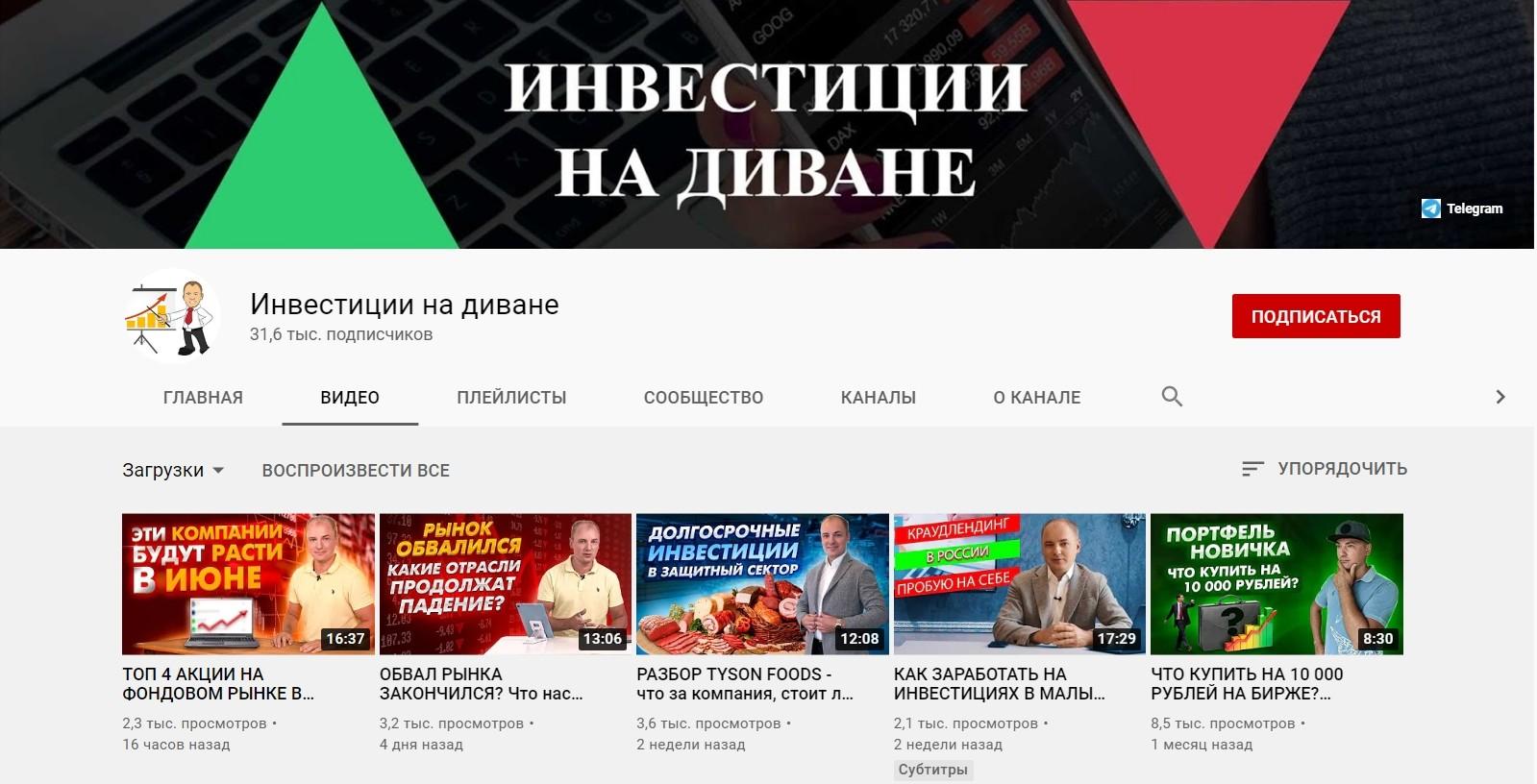 Ютуб канал Алексея Чечукевича