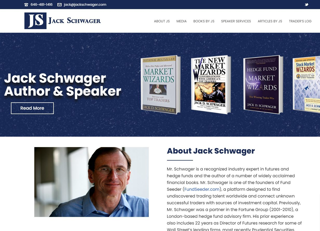 Джек Швагер отзывы