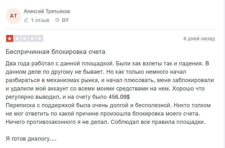 Реальные отзывы о брокере Capital.com