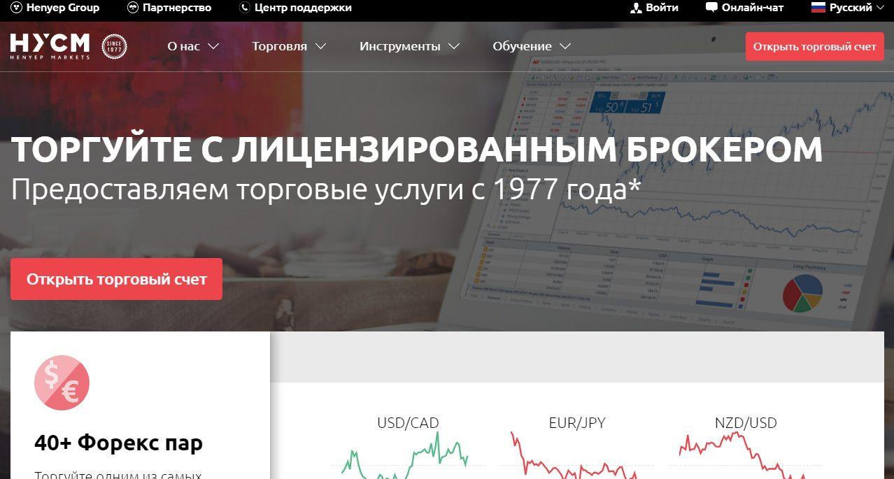 Официальный сайт HYCM