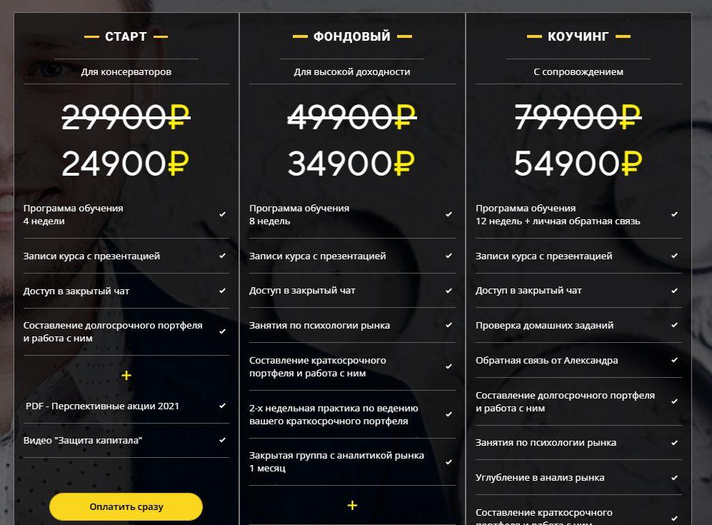 Авторские проекты Александра Воронкова