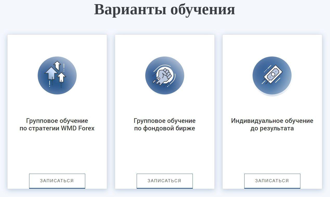 Варианты обучения Яна Сикорского