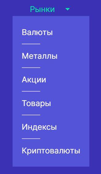 Торговые инструменты проекта Aplore.com