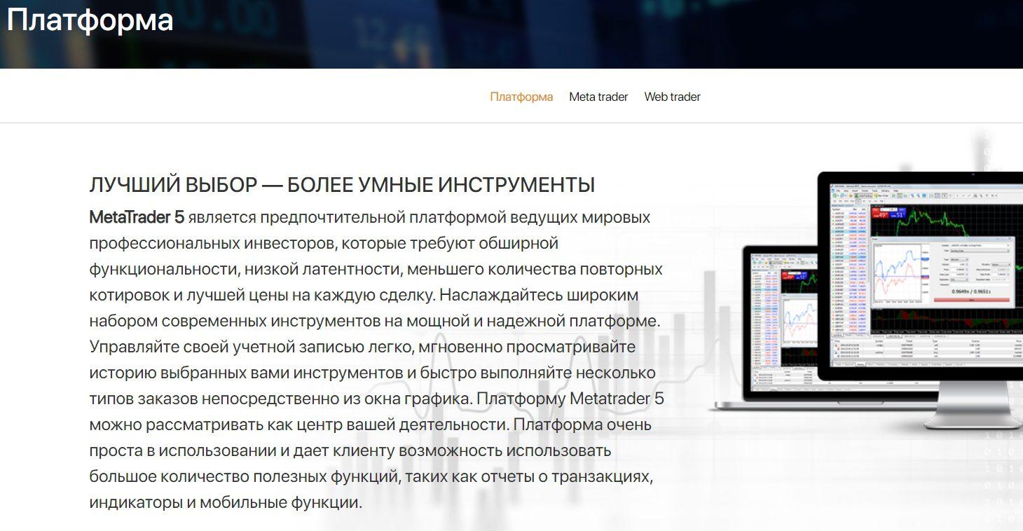 Торговые инструменты проекта ABC Group